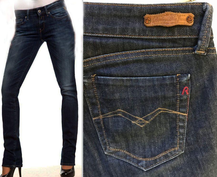 Replay fri frakt Pearl blå jeans rak.. (299052186) ᐈ Tuvstarr2nd på ... d7a202d2655b3