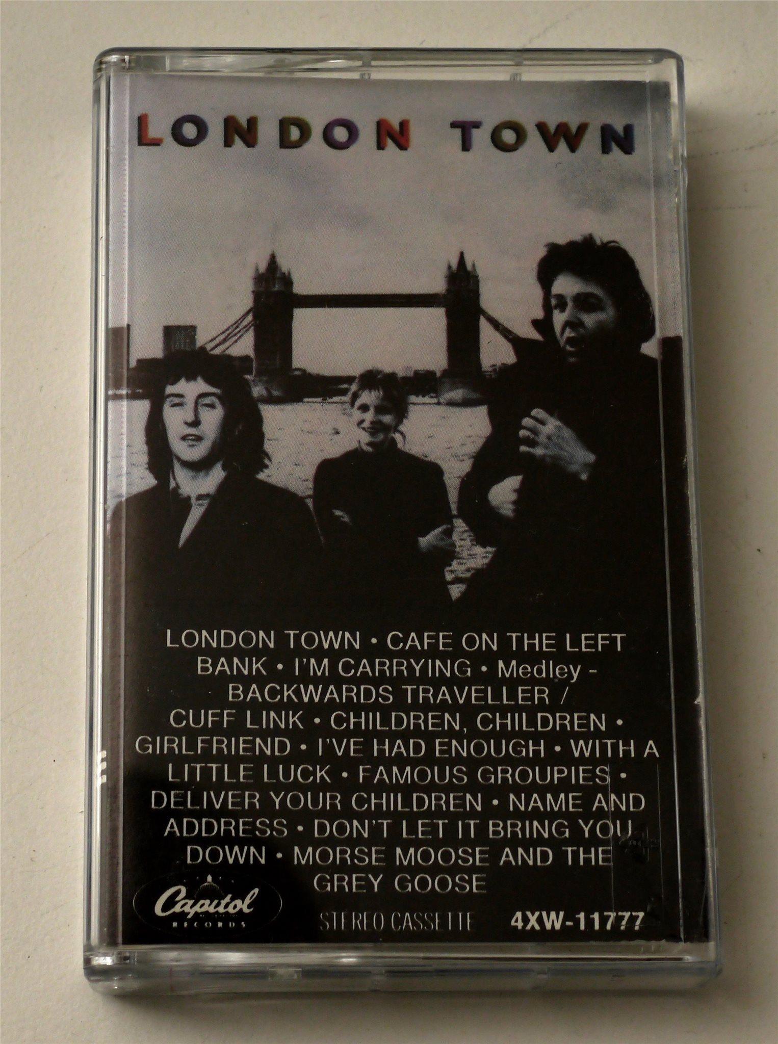 Wings - Paul McCartney / London Town kassettban   (344488685) ᐈ Köp