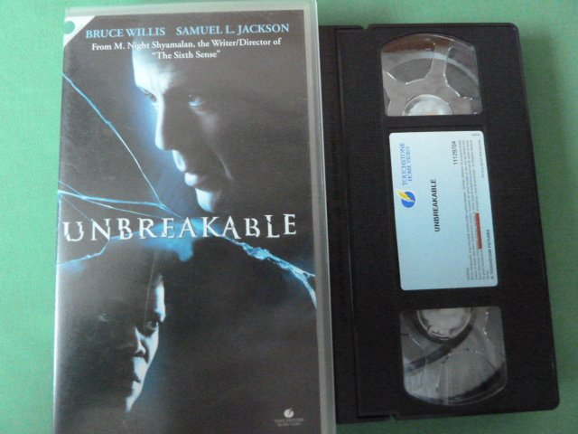 UNBREAKABLE,   VHS FILM