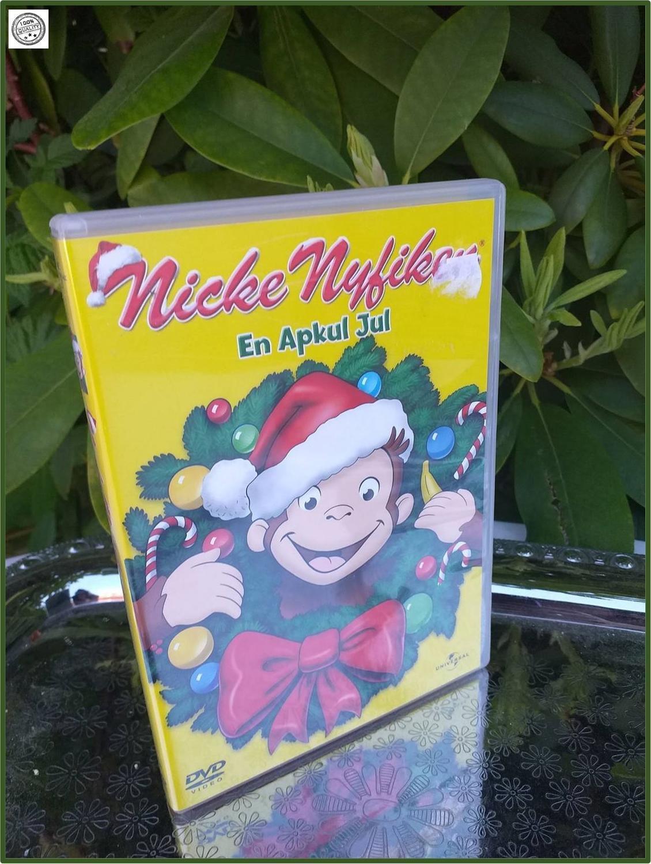 DVD Nicke Nyfiken En apkul Jul DVD Speltid 55 minuter Bästa barnvakten
