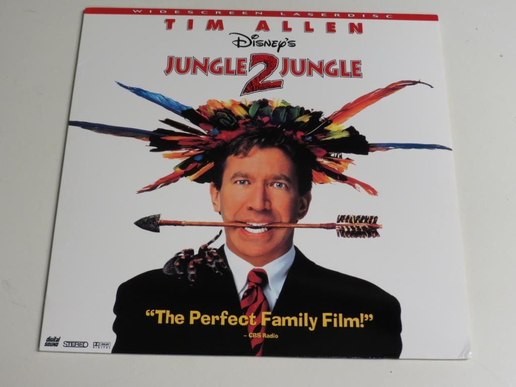 JUNGLE 2 JUNGLE (Laserdisc) Tim Allen