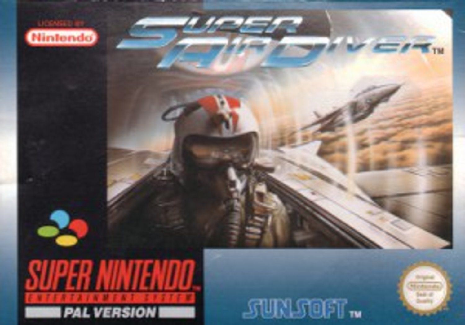 Super Air Diver - Super Nintendo