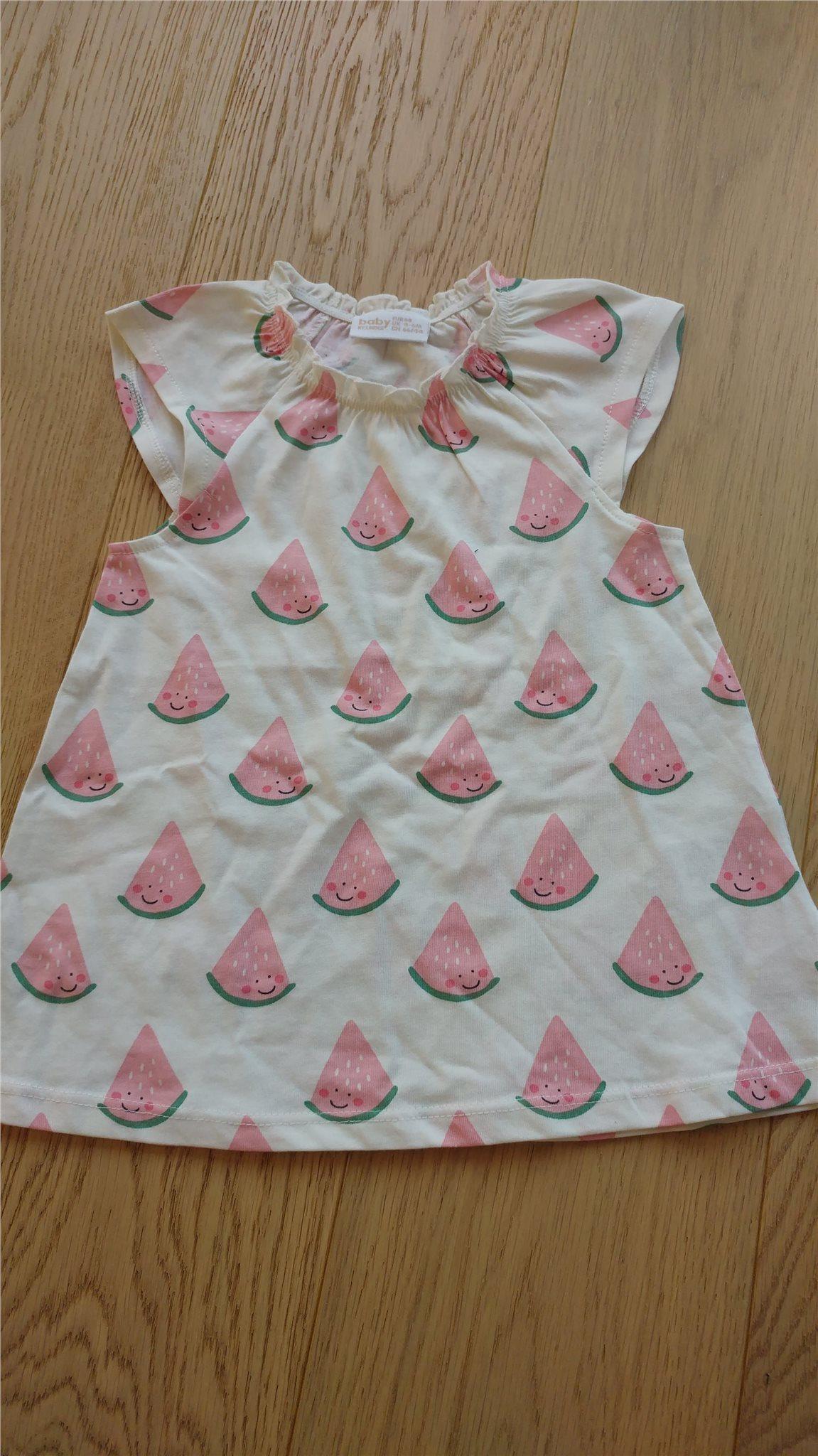 4199ae5c41a6 Ny barn tunika klänning vit melon Lindex storle.. (348176303) ᐈ Köp ...