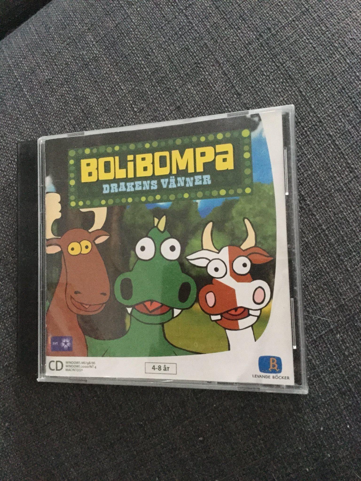 BOLIBOMPA DRAKENS HUS SPEL