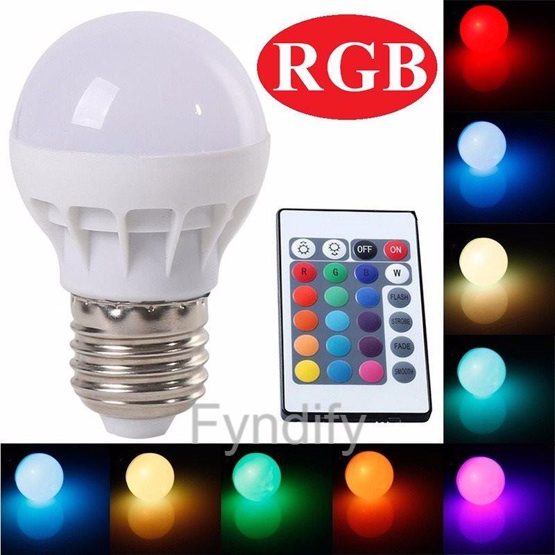 Splitter nya LED-Lampa RGB + Fjärrkontroll Byter Färg.. (279813953) ᐈ Fyndify XO-61
