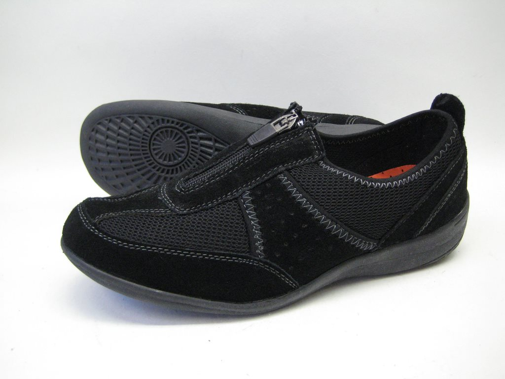 skor med dragkedja