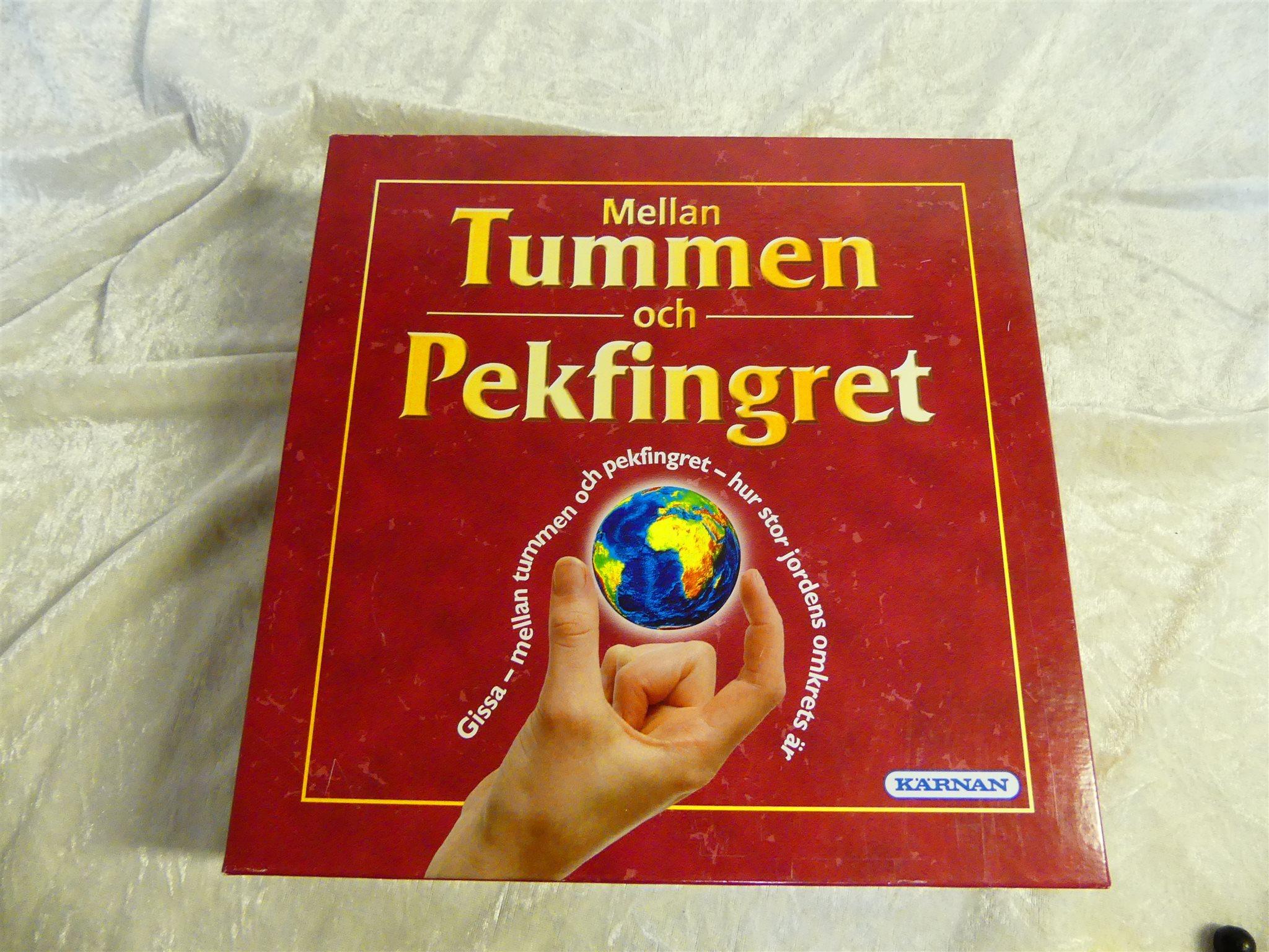 spel mellan tummen och pekfingret