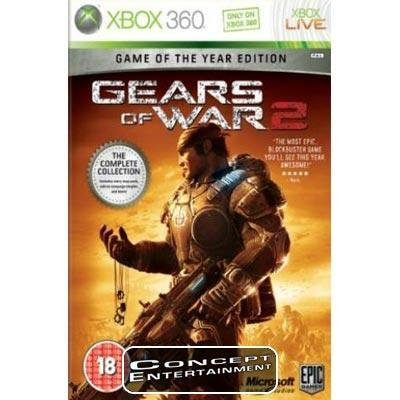 GEARS OF WAR 2 GAME OF THE YEAR EDITION (Nytt) till Microsoft Xbox 360