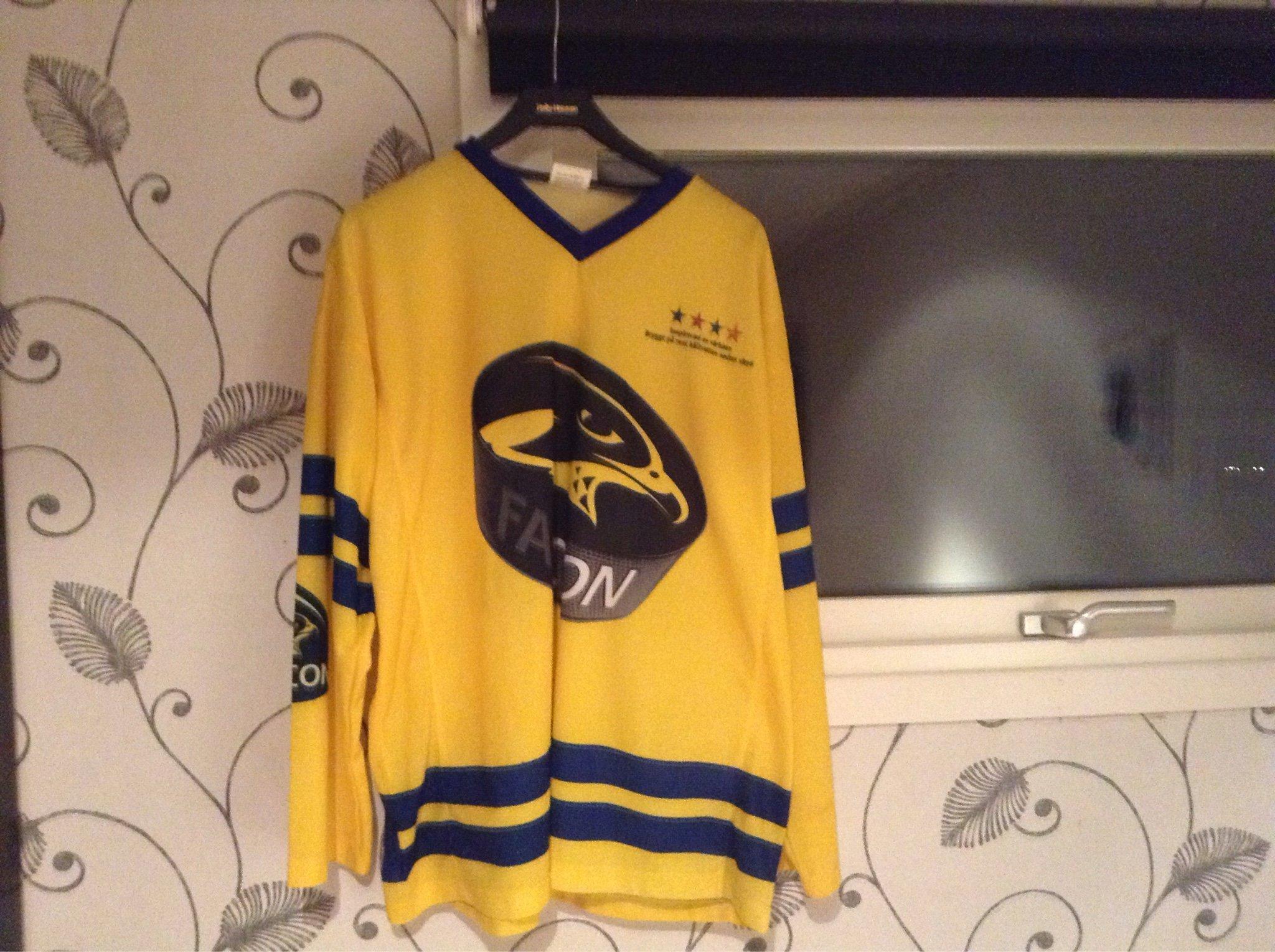 Sverige tröja med Falcon reklam strl M