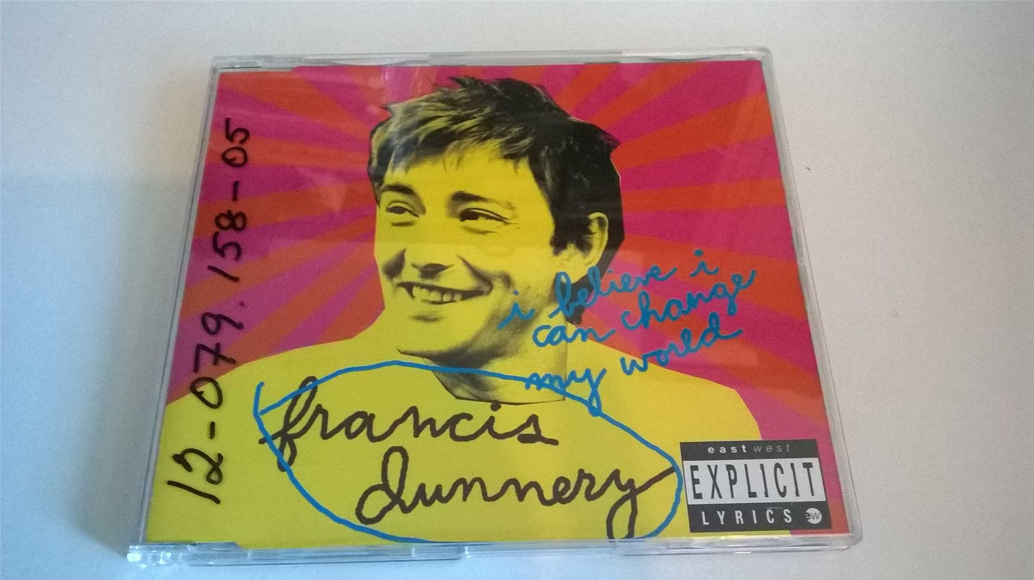 Francis Dunnery - I Believe I Can Change My World, CD