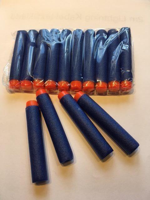 300st 300st 300st blå Skumpilar, skott, pilar passande Nerf N-strike mm. 724e37