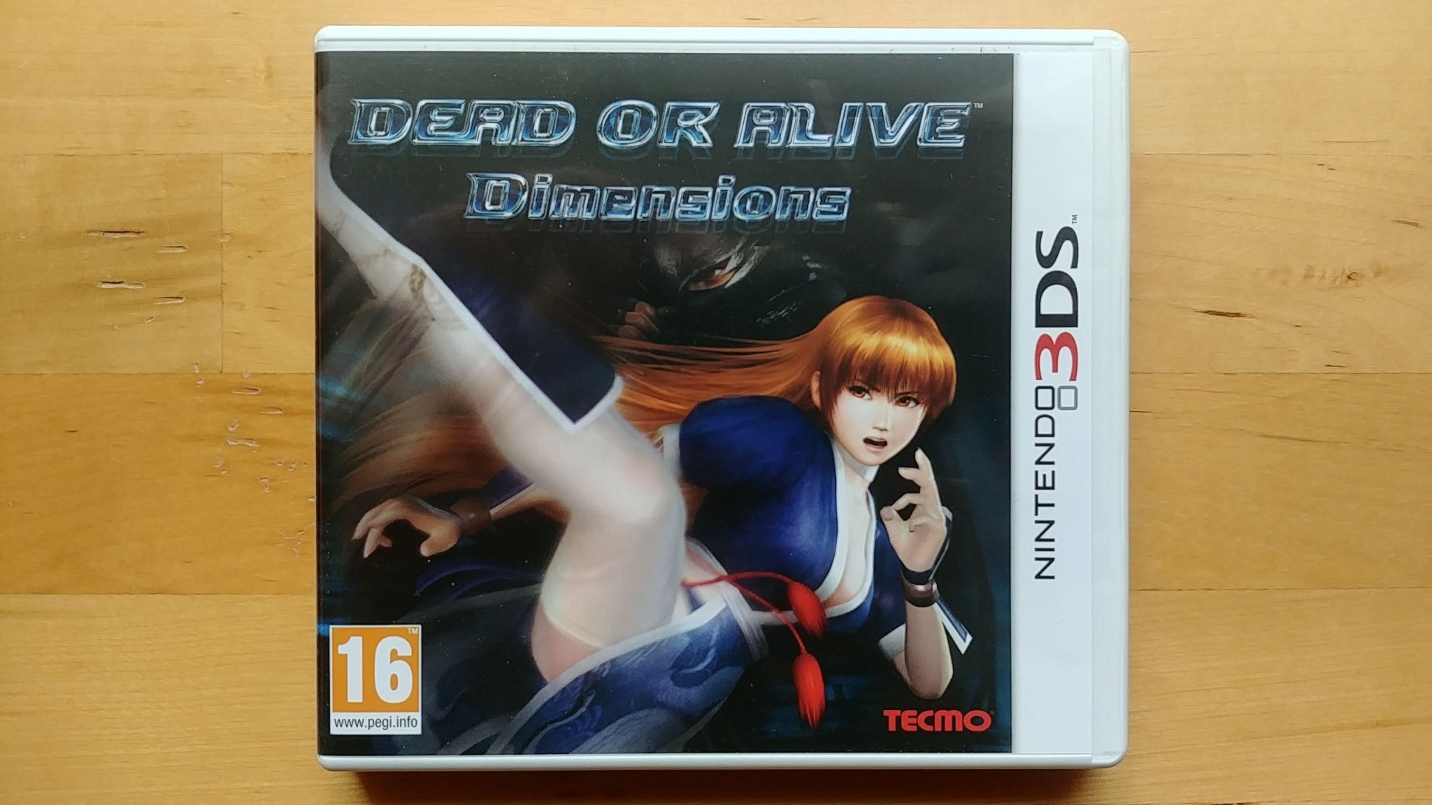 Dead Or Alive Dimensions 3DS (Komplett)