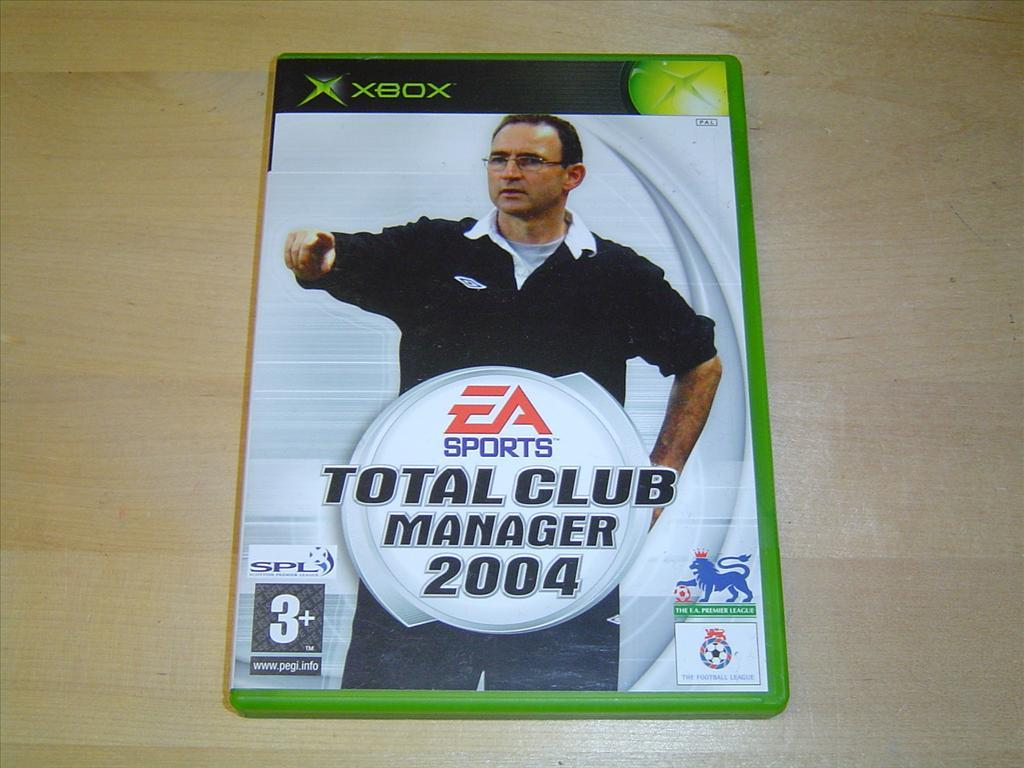 TOTAL CLUB MANAGER 2004 XBOX *NYTT*