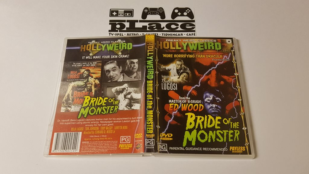 Hollyweird - Bride Of The Monster ( Engelsk Text ) DVD