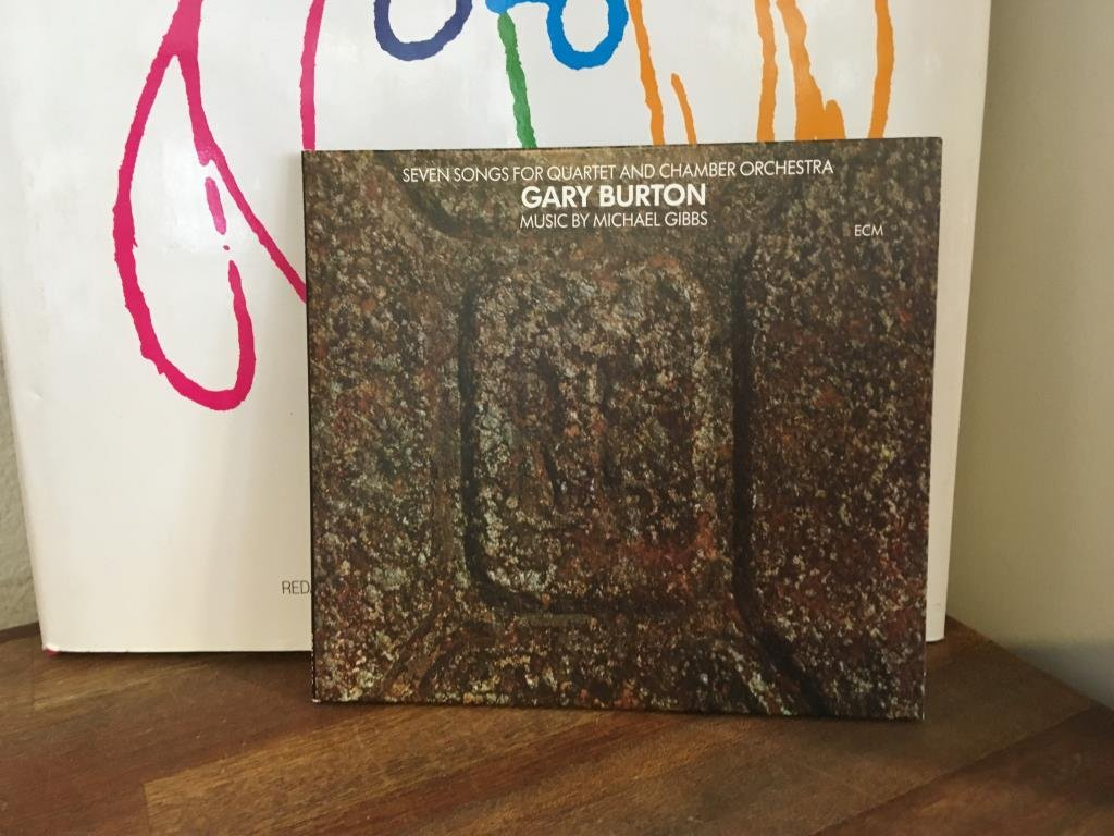 GARY BURTON - 7 SONG FOR QUARTET & CHAMBER ORCH...