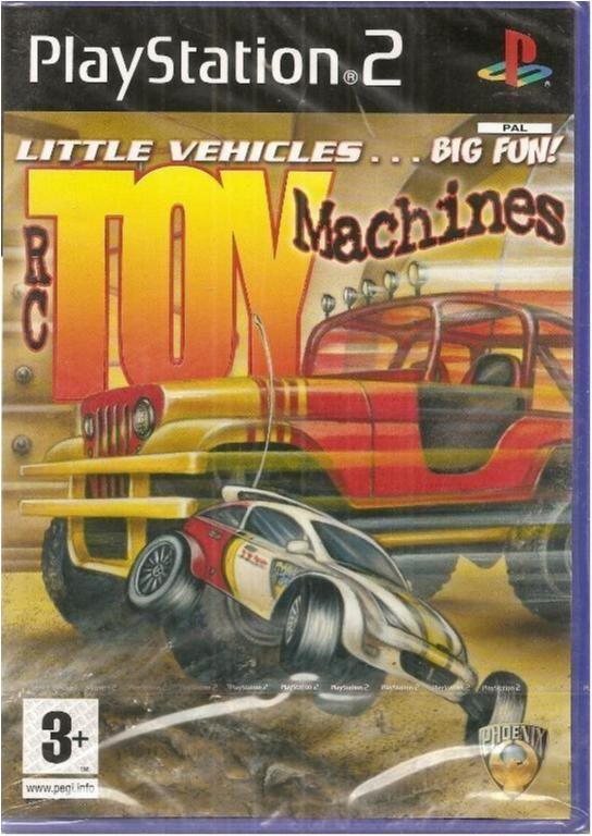 TOY MACHINES  (NY & INPLASTAT PS2 SPEL)