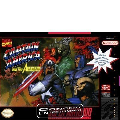 CAPTAIN AMERICA AND THE AVENGERS till Super Nintendo SNES