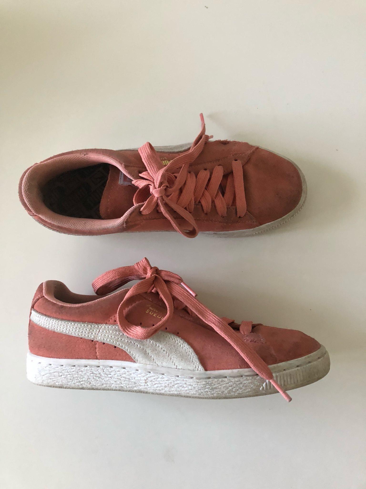 c5cdaf1f96e Puma skor stl 38 sneakers rosa mocka suede (344175462) ᐈ Köp på Tradera