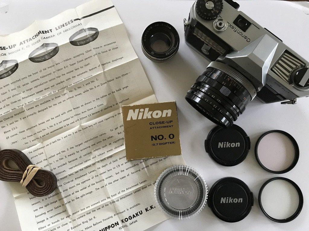 Canon RM, Nikon filter, Jupiter-8, med mera (352351038) ᐈ