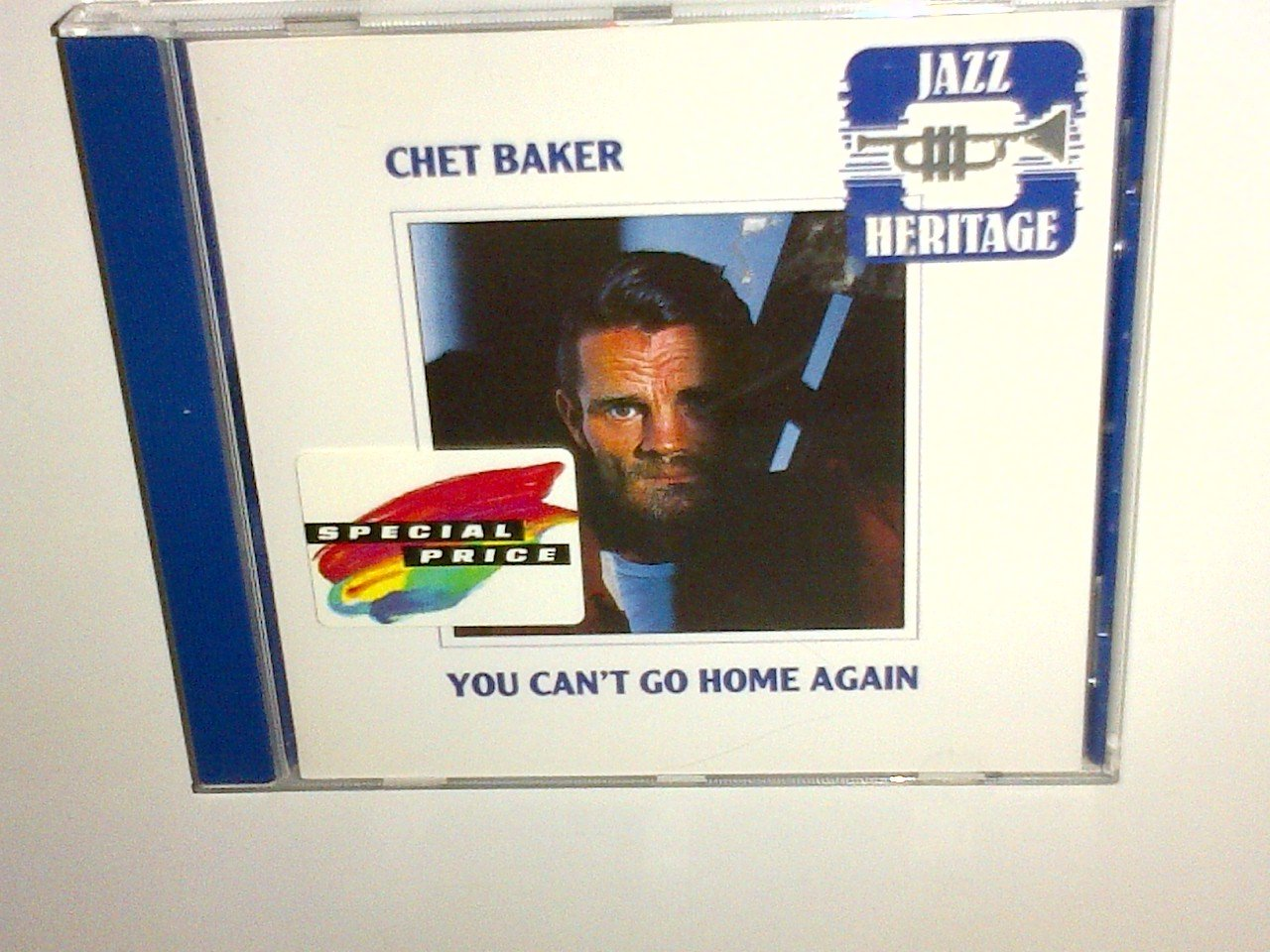 Chet Baker - You can't go home again, CD