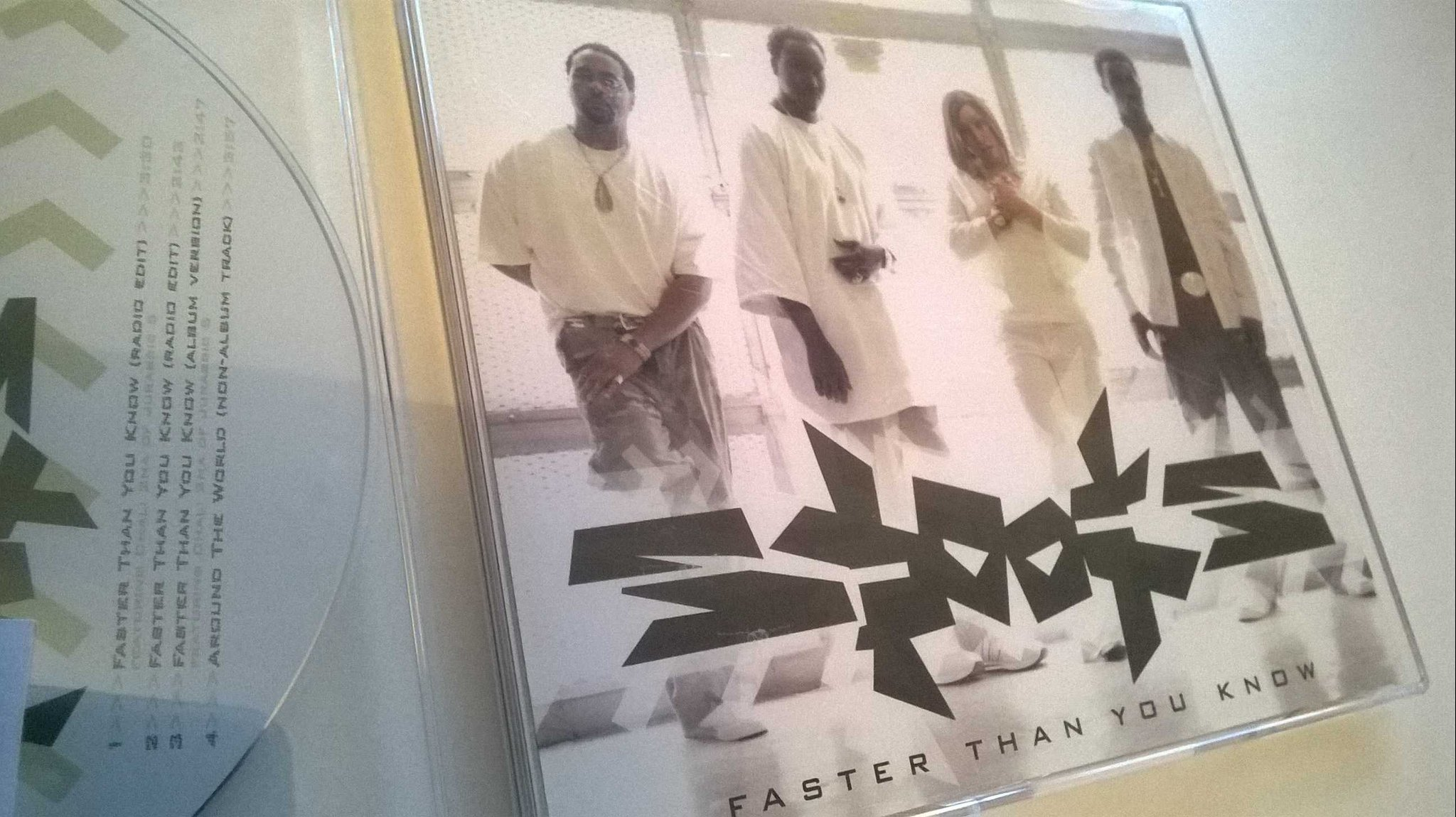 Spooks ?- Faster Than You Know, CD, Single