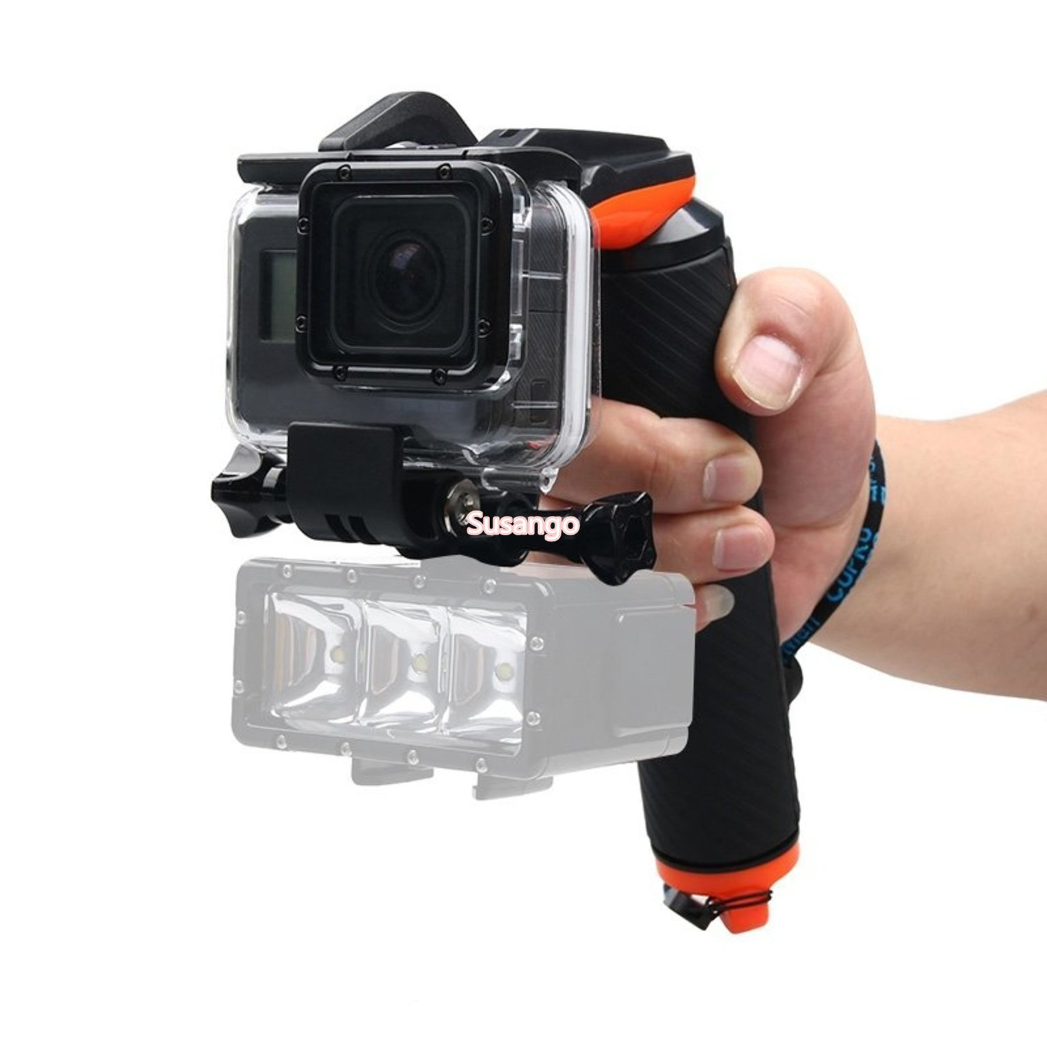 Shutter Trigger Floating Hand Grip GoPro HERO