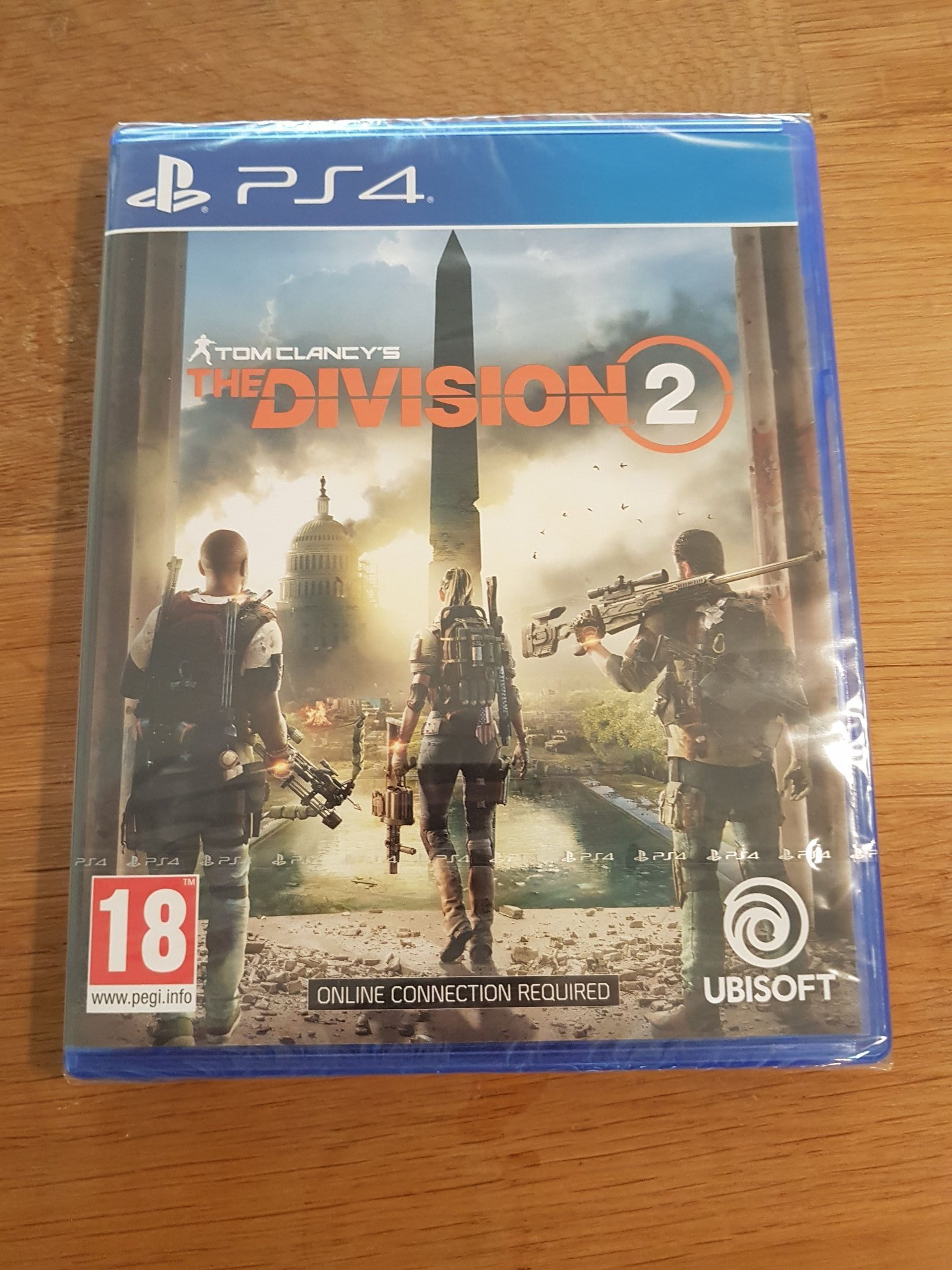 PS4: The Divison 2. Nytt