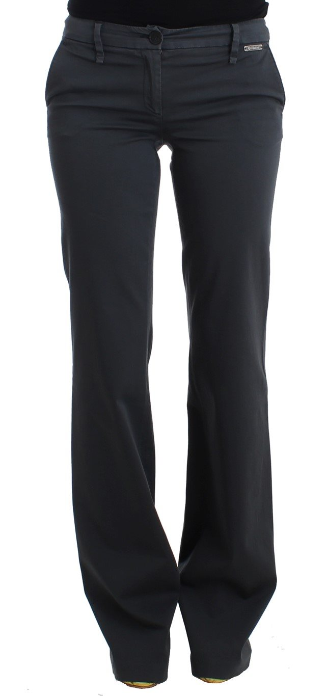 Galliano - Gray wide leg pants