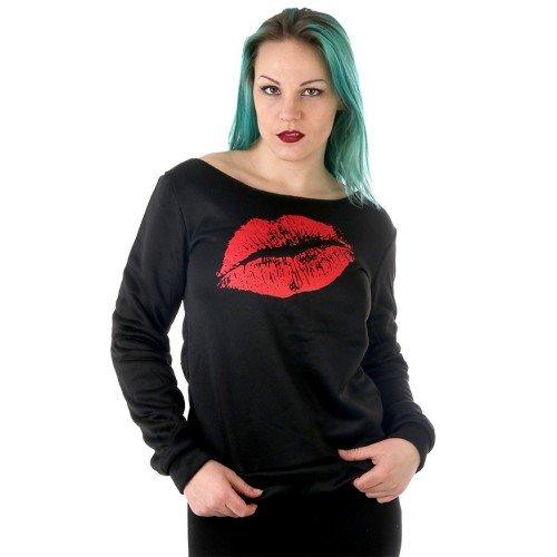 009b60a59c77 Tröja Kiss Pussmun topp överdel kläder.. (319309419) ᐈ CrazyLady på ...