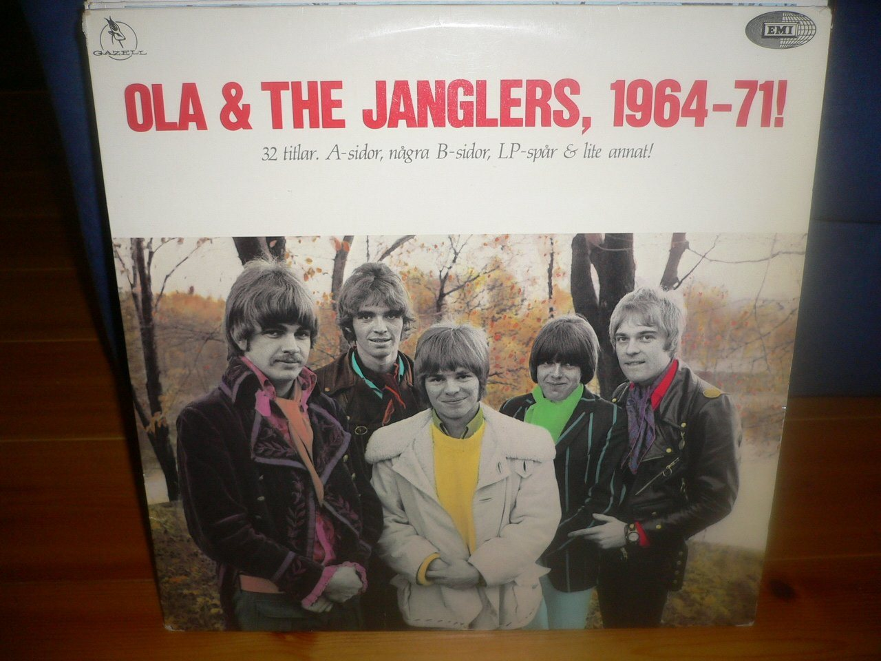 Dubbel LP Ola & The Janglers - 1964-71