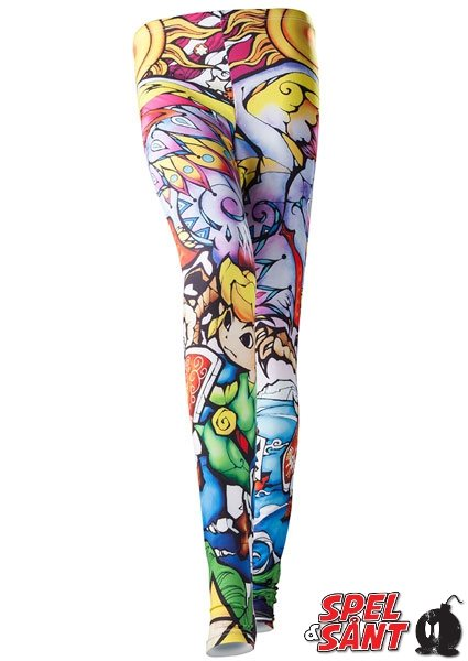 Nintendo Zelda Windwaker HD Leggings (Medium)