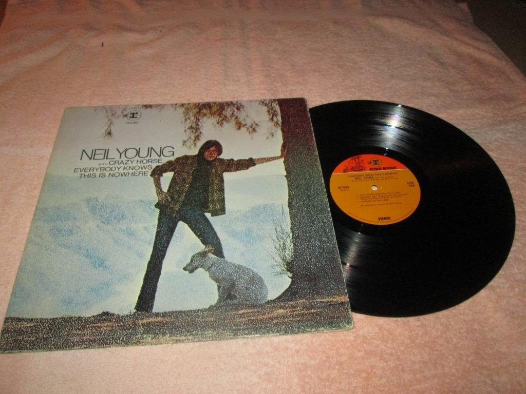 NEIL YOUNG  EVERYBODY KNOWS