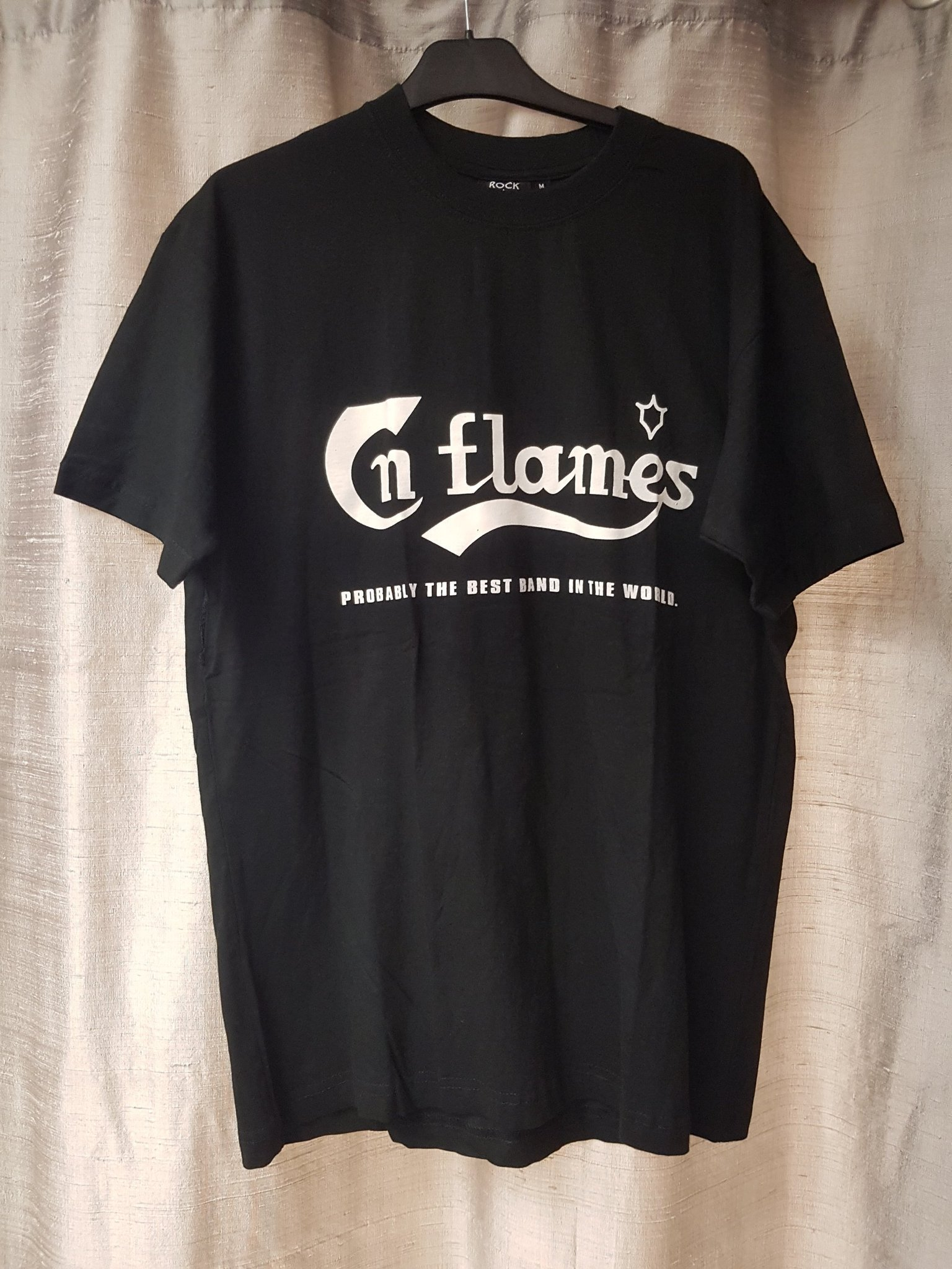 T-SHIRT IN FLAMES STL XS