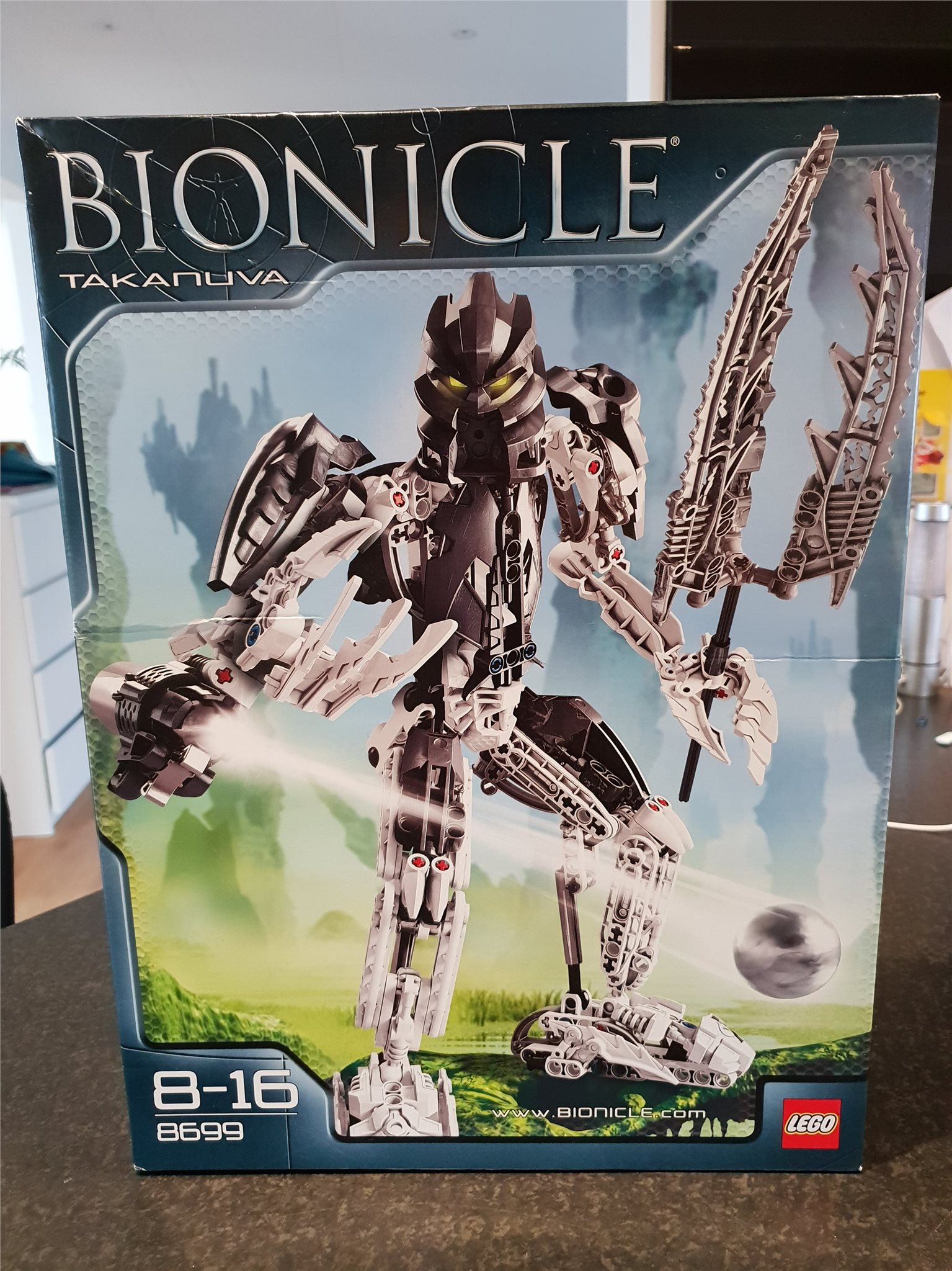 Lego Nytt Oöppnat  Lego Bionicle 8699 Takanuva