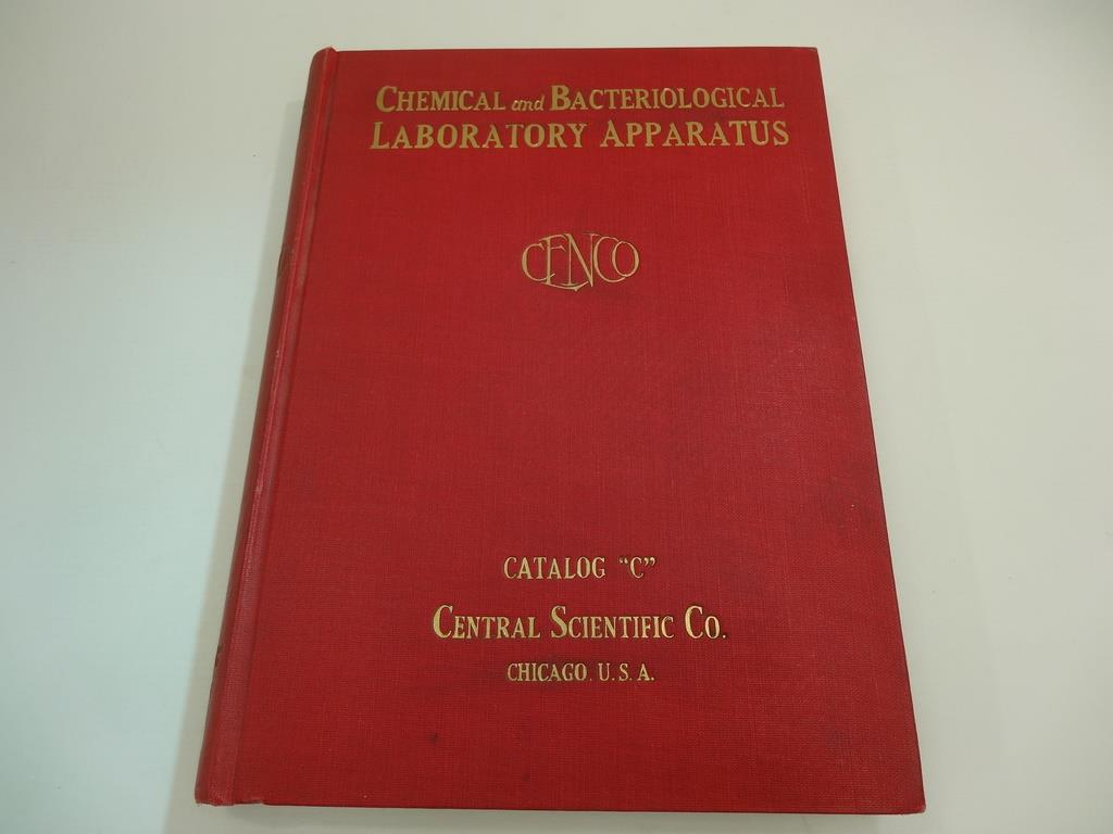 Chemical and bacteriological Labaratory  apparatus - Catalog C