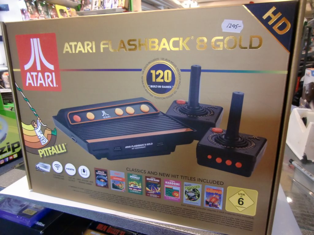Atari Classic Game Console Gold HD