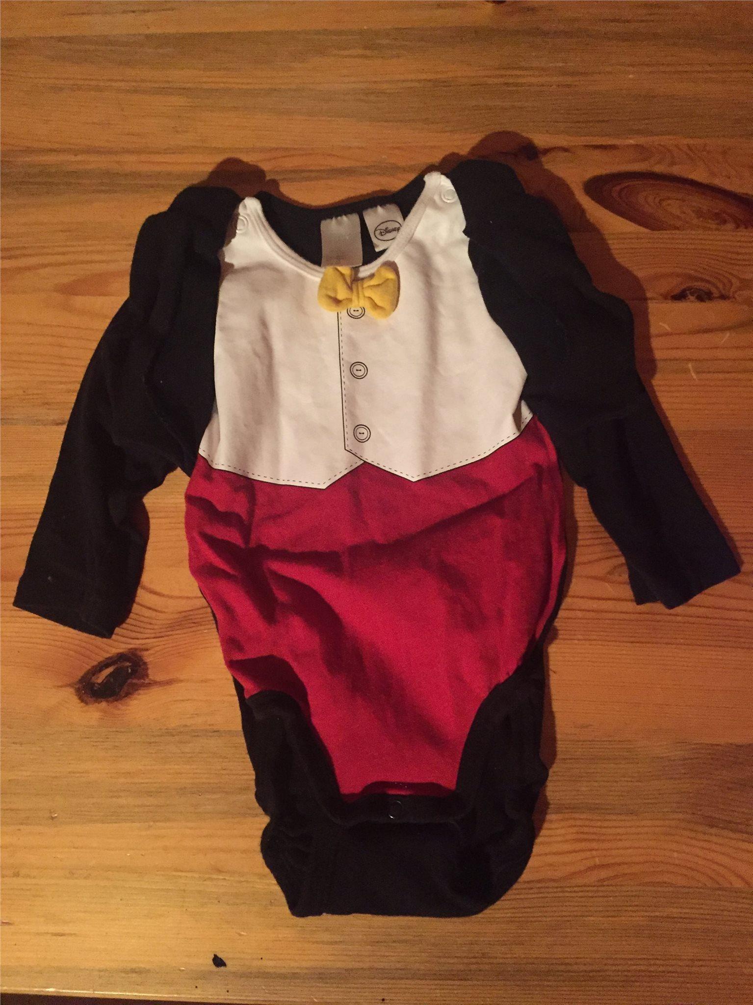 H M Body Stl 68 Disney Skjorta Fluga Musse Pigg Tuxedo Fin Kläder Jul Nyår 7de0889d632c0