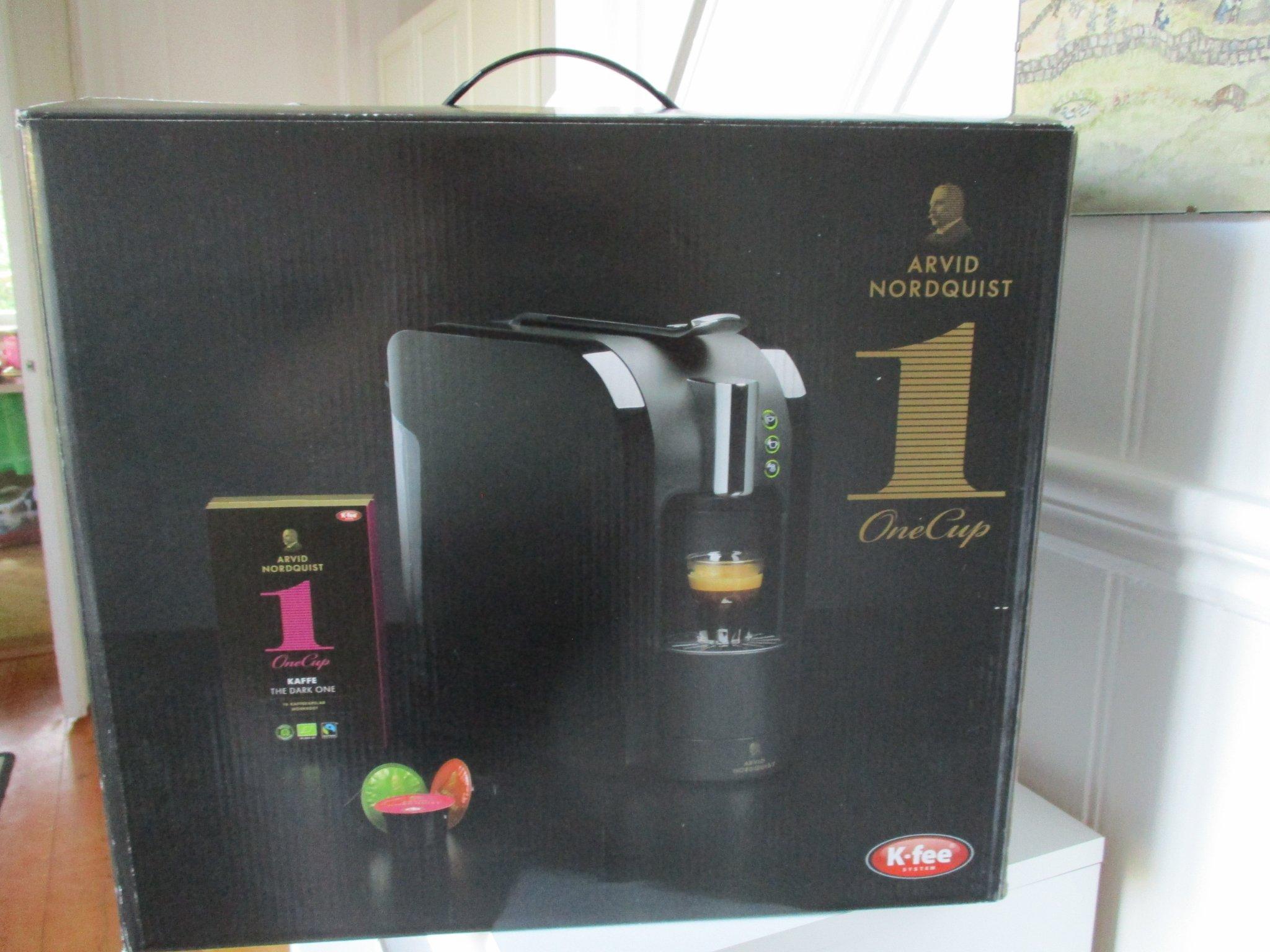 NY Arvid Nordquist kaffemaskin kapsel espresso latte macchiato kaffe te choklad
