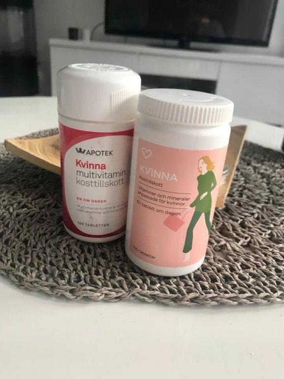 vitamin kvinna apoteket