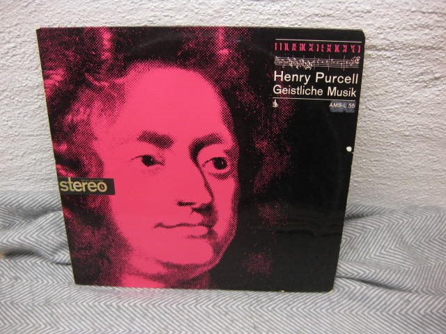 Henry Purcell - Geistliche Musik - AMS-L 55