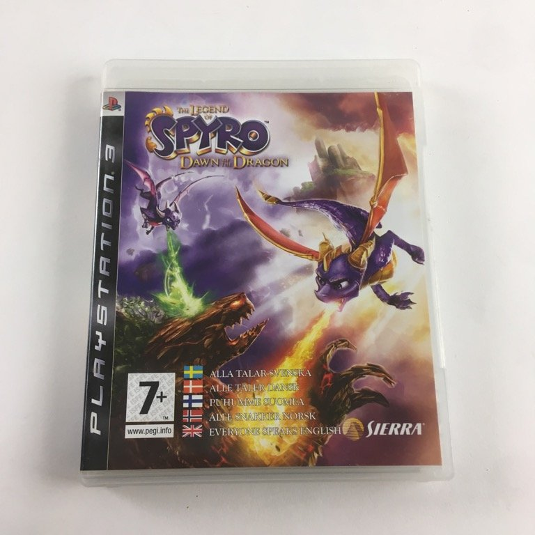 The Legend of Spyro, Dawn of the Dragon, TV-Spel, PlayStation 3, Äventyr