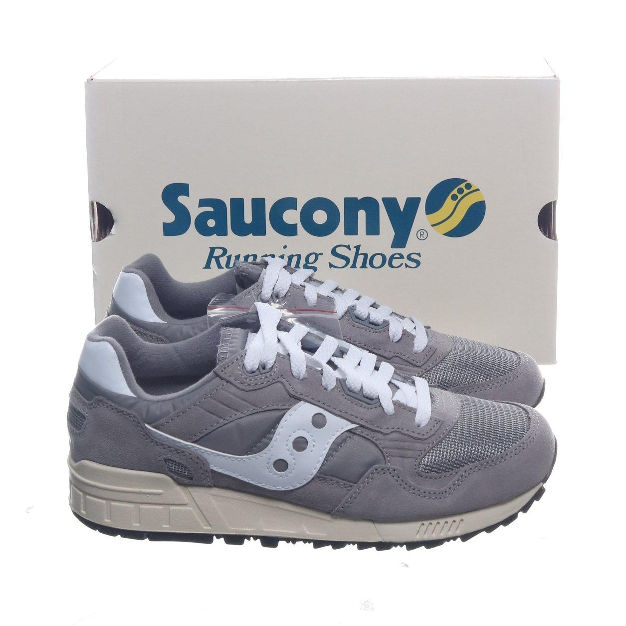 Saucony, Sneakers, Strl: 38.5, Shadow 5000 Vintage, Grå, Mocka
