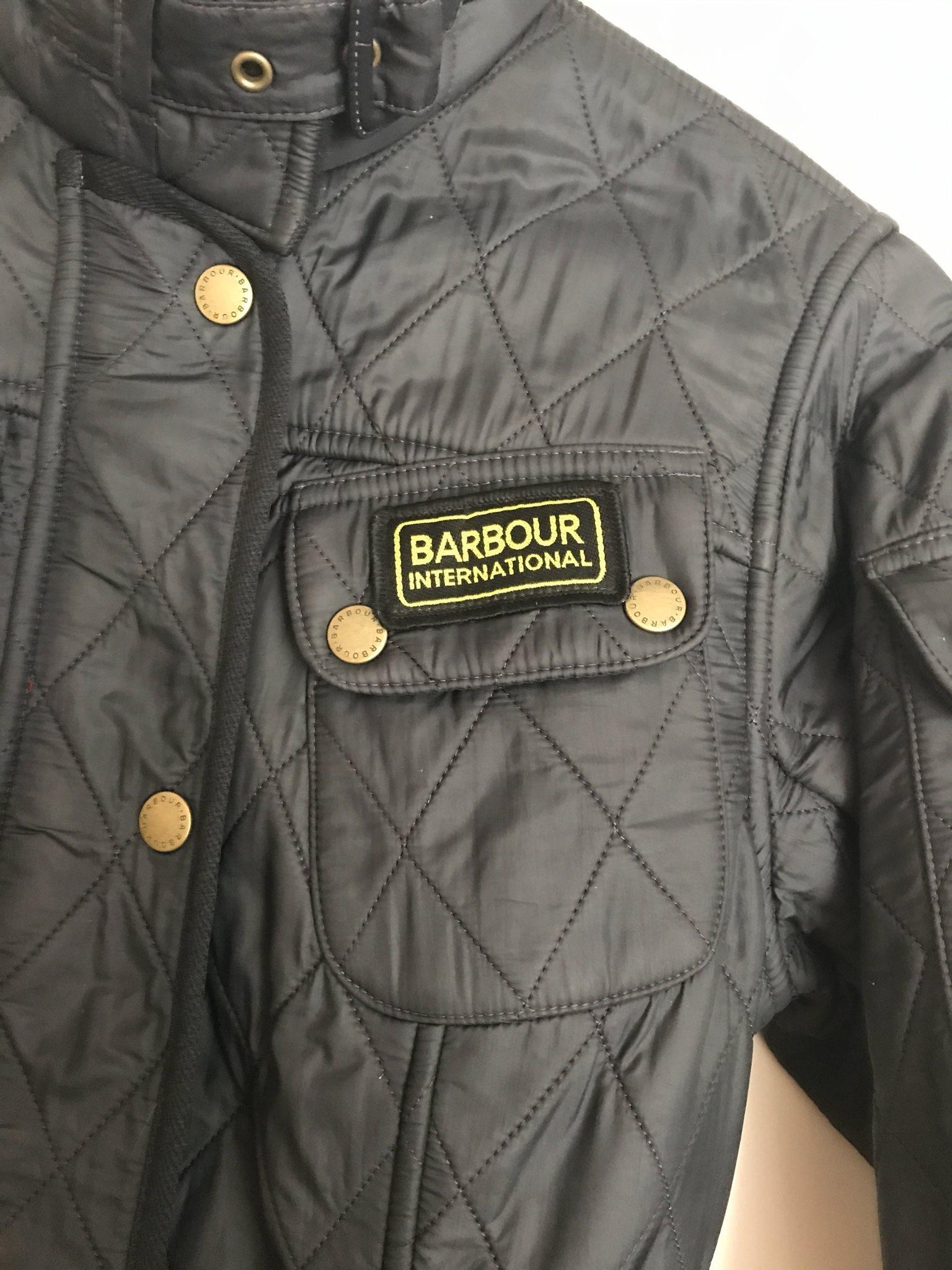 Barbour jacka dam international quilt