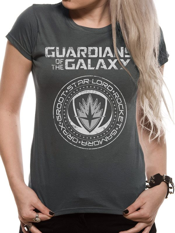 GUARDIANS OF THE GALAXY 2.0 - CREST (FITTED) T-Shirt - Large