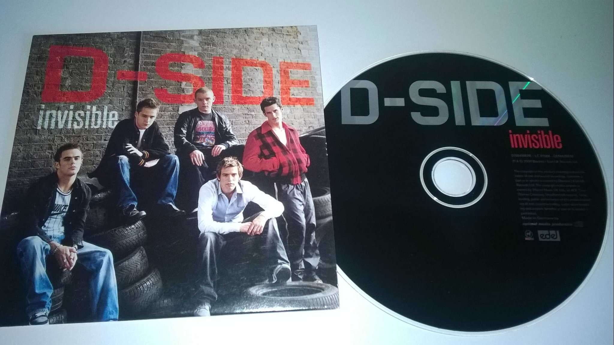 D-side - Invisible, single CD