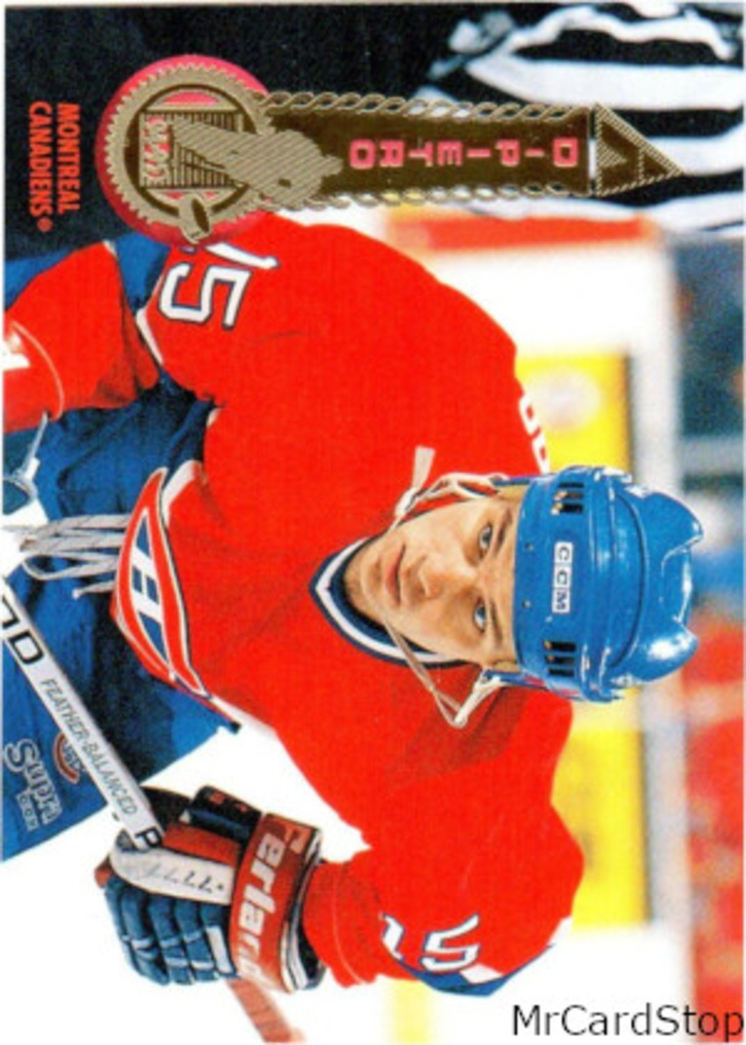 1994-95 Pinnacle 443 Paul DiPietro Montreal Canadiens