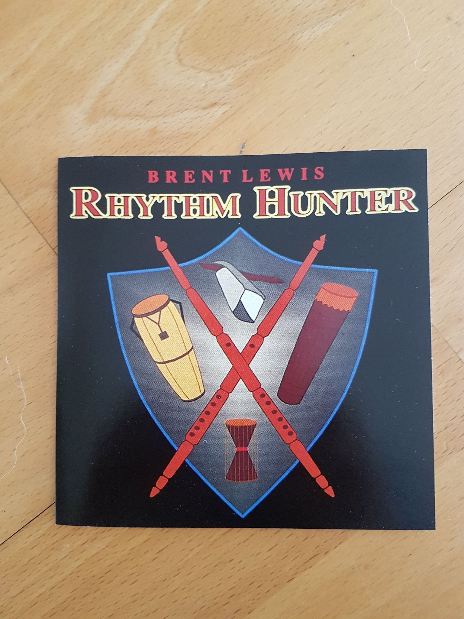 Brent Lewis Rhythm Hunter CD