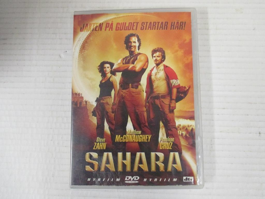 f3f031b7c19a Sahara / DVD (Stve Zahn/Penelope Cruz). lånad b.. (334301587) ᐈ Köp ...