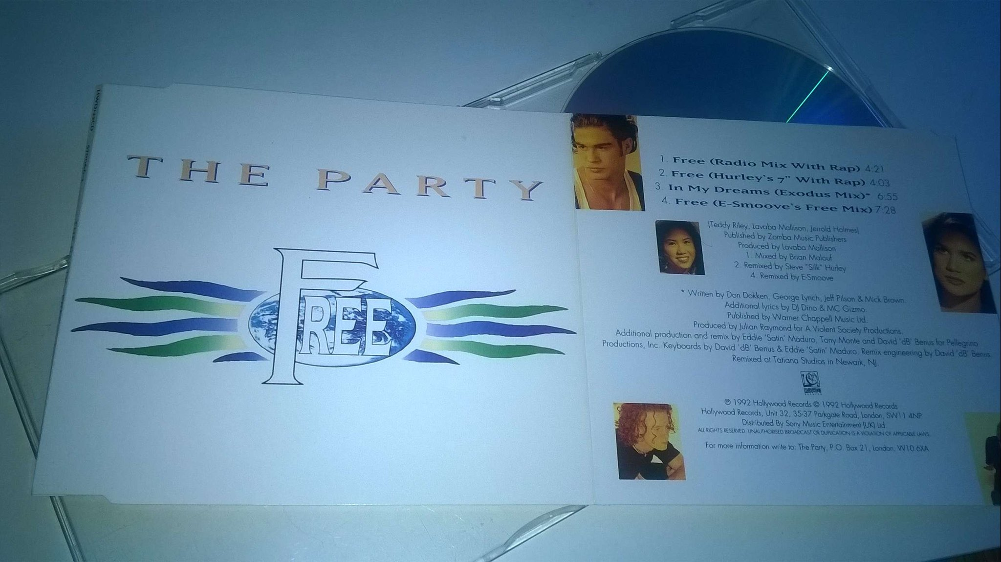 The Party - Free, CD, Maxi-Single