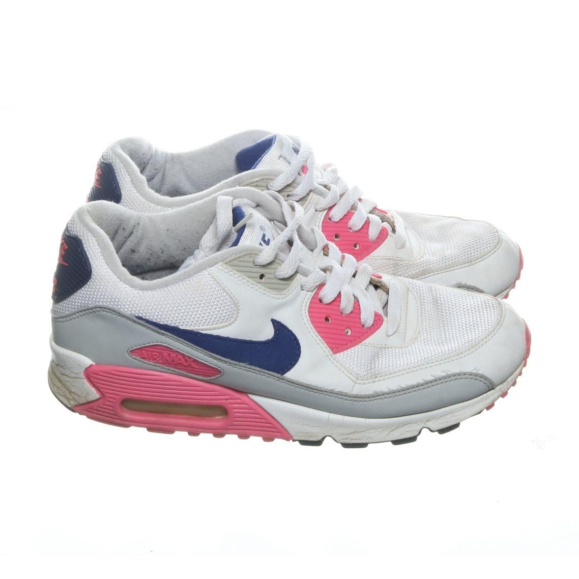 new style e58f3 19d21 Nike, Sneakers, Strl  40.5, AIR MAX, Vit Flerfärgad
